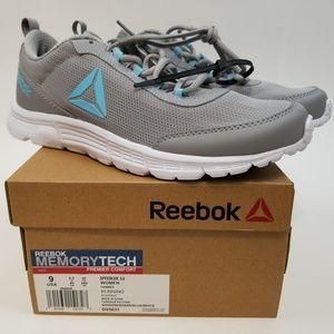 Shoes - Reebok Speedlux 3 Grey Sneakers Size 9 NWT